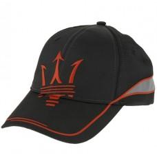 *Чёрная мужская бейсболка Maserati