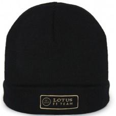 *Чёрная мужская шапка Lotus F1 Team