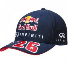 *Именная кепка Infiniti Red Bull Racing - Daniil Kvyat