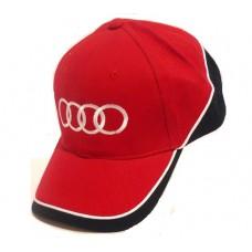 Красная бейсболка Audi