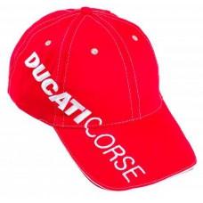 *Красная бейсболка Ducati Corse