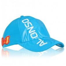 *Именная кепка McLaren Honda Alonso (синяя)