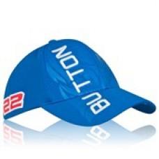 *Именная кепка McLaren Honda Button (синяя)