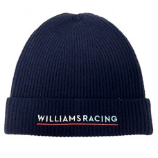 Вязанная спортивная мужская шапка Williams Martini Racing by Hackett, синяя