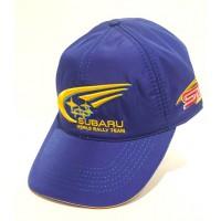 *Синяя бейсболка Subaru - World Rally Team