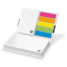 Блокнот со стикерами BMW Notepad Book