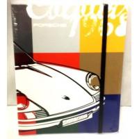 Винтажный блокнот с ручкой, Porsche