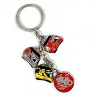 """*Брелок на ключи от машины """"Шлемы"""" Michael Schumacher"""