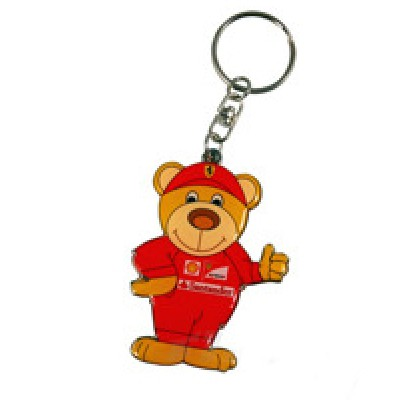 """Брелок для ключей - Медведь Ferrari """"Teddy"""""""