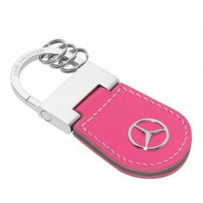 Женский брелок Mercedes-Benz (розовый)