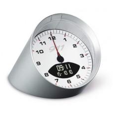 Стильные настольные серебристые часы Porsche Design