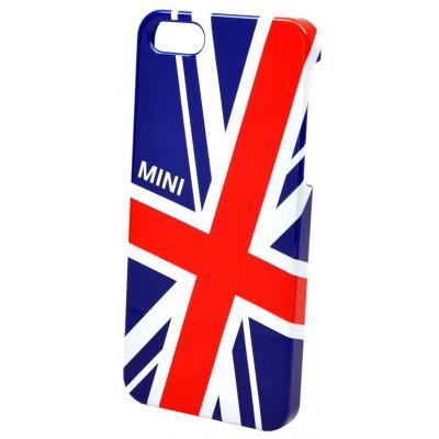 Чехол бампер для iPhone 5/5S Mini Британский флаг, разноцветный