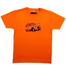 Детская футболка Citroen Heritage оранжевого цвета