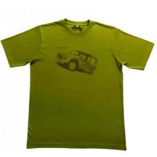 Детская футболка Citroen Heritage зеленого цвета