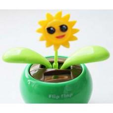 Цветок FLIP FLAP на солнечных батарейках Подсолнух
