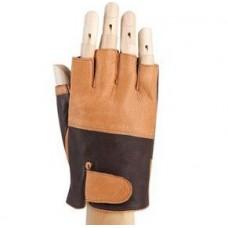 *Перчатки для вождения (кожаные, без пальцев)