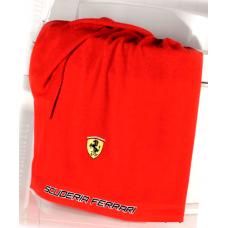 *Полотенце для душа Ferrari 70 х 140 см красное
