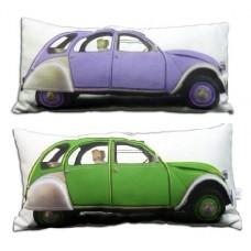 Декоративная подушка Автомобиль Citroen на диван или кровать