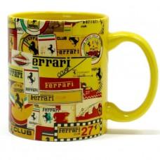 *Коллекционная кружка Ferrari
