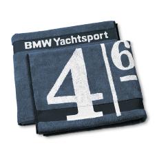 Махровое полотенце (100x160) BMW Yachting в подарок мужчине