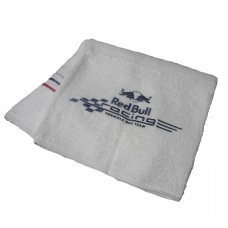 Махровое полотенце для рук (50х100) Red Bull Racing, белое