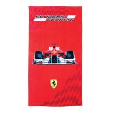 *Пляжное полотенце болид Ferrari (75х150 см)