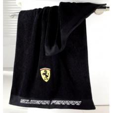 *Полотенце для рук (50х100 см) Ferrari, черное