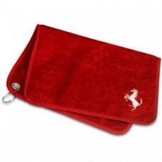 Полотенце для рук Ferrari Golf 30 х 50 см в подарочной упаковке, красное