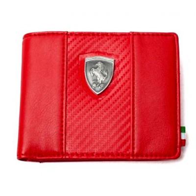 *Кошелек PUMA Ferrari, красного цвета