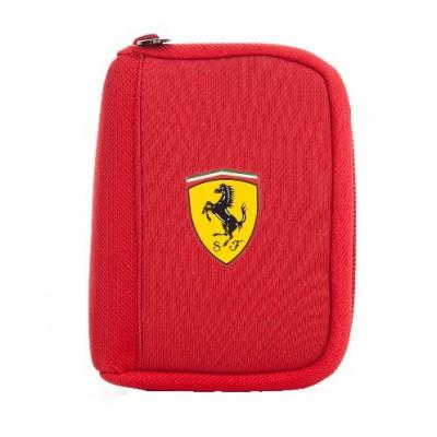 Молодежный кошелек Ferrari, красного цвета