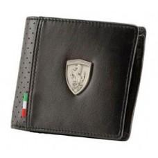 Мужское портмоне Ferrari, чёрного цвета