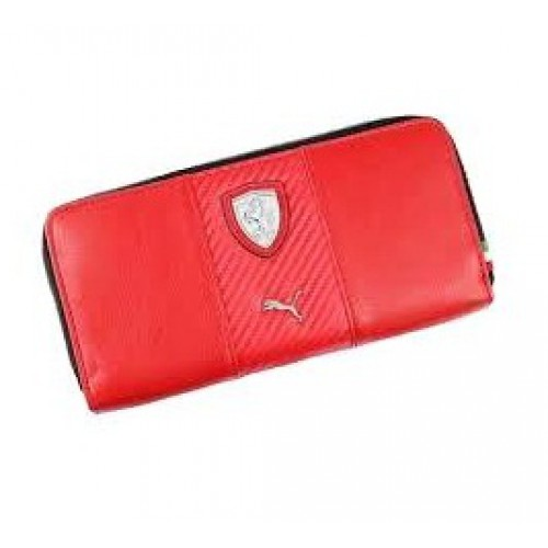 e7fe43f83e01  Портмоне PUMA Ferrari на молнии, красного цвета ...
