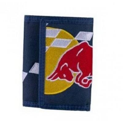 *Текстильный кошелек Red Bull Racing на липучке