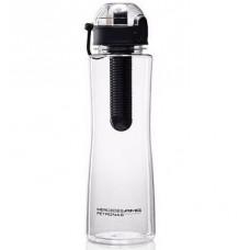 *Спортивная бутылка для воды Mercedes AMG Petronas стекло, с фильтром