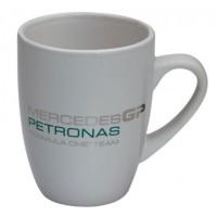 Белая кружка Mercedes GP Petronas F1 Team