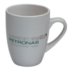 Белая кружка Mercedes GP Petronas F1 Team