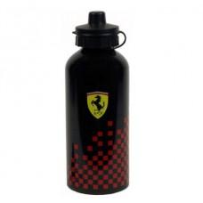 *Фитнес бутылка для воды Ferrari, чёрная