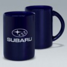 Кружка Subaru, синяя