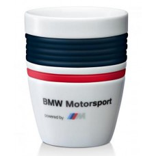 Оригинальная кружка BMW Motorsport, белого цвета