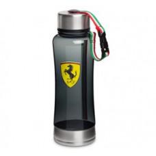 *Пластиковая спортивная бутылка для воды Ferrari, чёрная