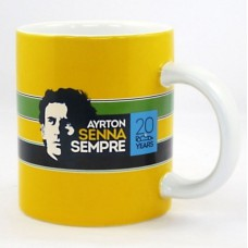 Желтая кружка Ayrton Senna