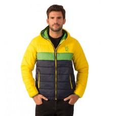 *Дутая мужская куртка Ayrton Senna