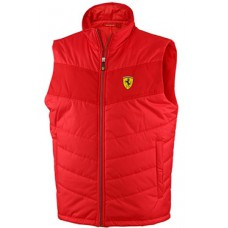 Красный мужской жилет Ferrari