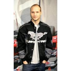 Мужская клубная куртка Ford Mustang черная