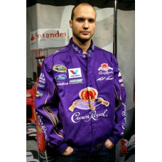 Мужская куртка бомбер Ford Crown Royal фиолетовая