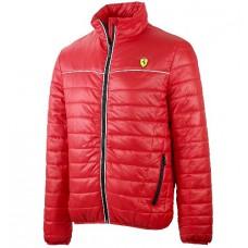 Утепленная мужская куртка Ferrari, красная
