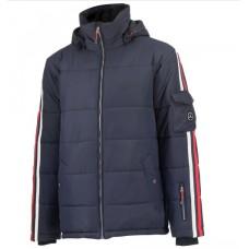 *Зимняя мужская куртка Mercedes Benz, темно-синего цвета