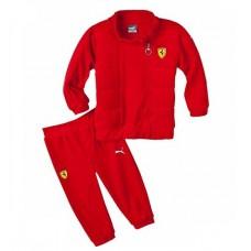 Детский спортивный костюм Ferrari by PUMA, красный