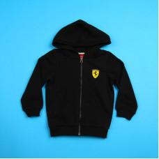 *Детский спортивный костюм Ferrari, чёрного цвета