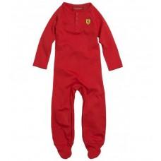 Красная пижама Ferrari для новорожденного